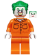 Minifig No: sh598  Name: The Joker - Prison Jumpsuit