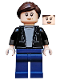 Minifig No: sh601  Name: Maria Hill - Black Jacket, Light Bluish Gray Shirt, Dark Blue Legs