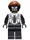 Minifig No: sh615  Name: Spider-Girl, Black and White