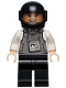 Minifig No: sh617  Name: Armored Truck Driver, Helmet