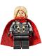 Minifig No: sh623  Name: Thor - Spongy Cape, Pearl Dark Gray Legs
