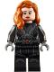 Minifig No: sh637  Name: Black Widow - Printed Arms