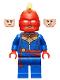 Minifig No: sh641  Name: Captain Marvel - Helmet