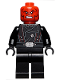 Minifig No: sh652  Name: Red Skull - Black Belt
