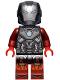 Minifig No: sh654  Name: Iron Man Blazer Armor