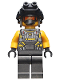 Minifig No: sh668  Name: AIM Agent - Night Vision Goggles