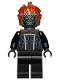 Minifig No: sh678  Name: Ghost Rider - Flat Silver Head
