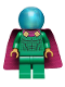 Minifig No: sh681  Name: Mysterio, Light Buish Gray Head, Satin Trans-Light Blue Helmet