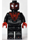 Minifig No: sh694  Name: Spider-Man (Miles Morales) - Classic Suit (Sony PS 2020 Exclusive)