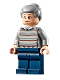 Minifig No: sh721  Name: Aunt May - Light Bluish Gray Sweater