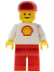 Minifig No: shell005  Name: Shell - Classic - Red Legs, Red Cap