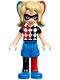 Minifig No: shg002  Name: Harley Quinn - Blue Shorts