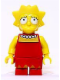 Minifig No: sim004  Name: Lisa Simpson with Worried look
