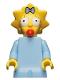Minifig No: sim005  Name: Maggie Simpson