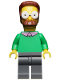Minifig No: sim013  Name: Ned Flanders - Minifigure only Entry