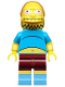 Minifig No: sim033  Name: Comic Book Guy - Minifigure only Entry