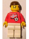 Minifig No: soc018s05  Name: Soccer Player - Norwegian Player 1, Norwegian Flag Torso Sticker on Front, Black Number Sticker on Back (specify number in listing)