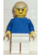 Minifig No: soc021  Name: Soccer Player Blue/White Team Player 2