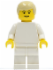 Minifig No: soc077  Name: Soccer Player White Team Player  7