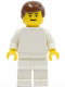 Minifig No: soc079  Name: Soccer Player White Team Player  9