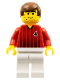 Minifig No: soc087  Name: Soccer Player Red/White Team with shirt  #4