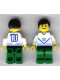 Minifig No: soc099  Name: Soccer Player White & Blue Promo Player with Shirt #10