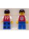 Minifig No: soc108  Name: Soccer Player FC Bayern #19