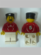 Minifig No: soc119s  Name: Soccer Player Red - Adidas Logo, Red and White Torso Stickers (#5)