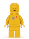 Minifig No: sp007  Name: Classic Space - Yellow with Airtanks