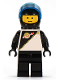 Minifig No: sp013  Name: Futuron - Black