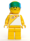 Minifig No: sp016  Name: Futuron - Yellow