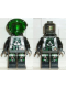 Minifig No: sp020  Name: Insectoids - green circuitry w/hose on sides, printed legs
