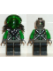 Minifig No: sp027  Name: Insectoids - green verniers w/ silver X pattern, Black Armor