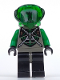 Minifig No: sp031  Name: Insectoids - Green Verniers w/ Silver X Pattern