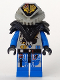 Minifig No: sp042  Name: UFO Zotaxian Alien - Blue Officer (Commander X)