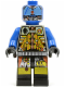 Minifig No: sp043  Name: UFO Droid - Blue (Techdroid 1)