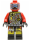Minifig No: sp044  Name: UFO Droid - Red (Techdroid 2)