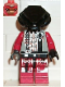 Minifig No: sp047  Name: UFO Alien Red (Undecorated Helmet)