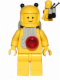 Minifig No: sp053a  Name: Classic Space - Yellow with Light Gray Jet Pack and Black Cones