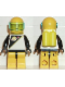 Minifig No: sp057  Name: Futuron - Black/Yellow with Yellow Helmet