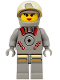 Minifig No: sp061  Name: Astrobot Female, Sandy Moondust