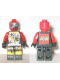 Minifig No: sp066  Name: UFO Droid - Red with LEGO Logo on Back (Techdroid 2)