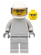 Minifig No: sp087  Name: Star Justice Astronaut 2 - without Torso Sticker (glasses)