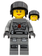 Minifig No: sp107  Name: Space Police 3 Officer  9 - Female
