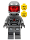 Minifig No: sp117  Name: Space Police 3 Officer 13 - Airtanks