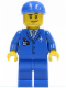 Minifig No: sp122  Name: Shuttle Ground Crew Member