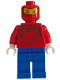 Minifig No: spd012  Name: Spider-Man 2 - Balaclava Face