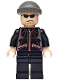 Minifig No: spd019  Name: Jewel Thief 2, Black Jacket Torso, Black Legs