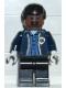 Minifig No: spd023  Name: Ambulance Driver, Dark Blue Torso with EMT Star of Life Logo, Black Legs, Black Male Hair