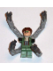 Minifig No: spd026  Name: Dr. Octopus / Doc Ock, Sand Green Jacket, Sand Green Legs, Thin Smirk - With Arms